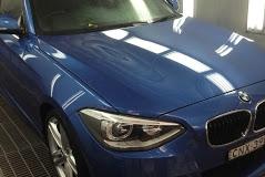 Blue BMW 2